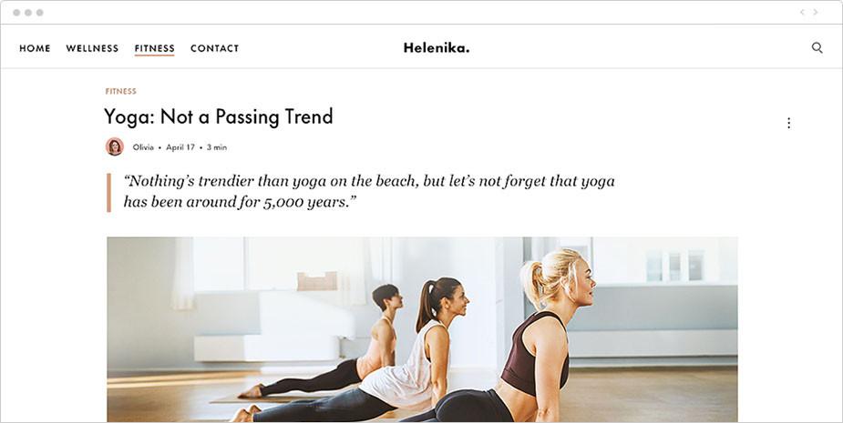 Блог о фитнесе и здоровом образе жизни