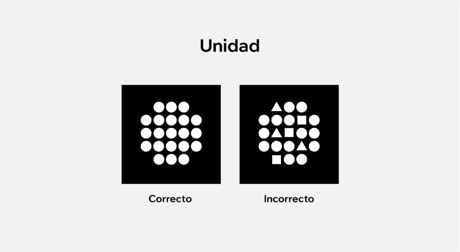 Principios de diseño aplicados al diseño web: unidad