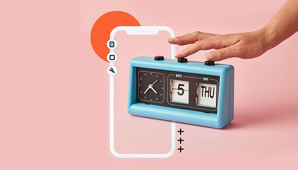 시간 관리 앱 메인 이미지