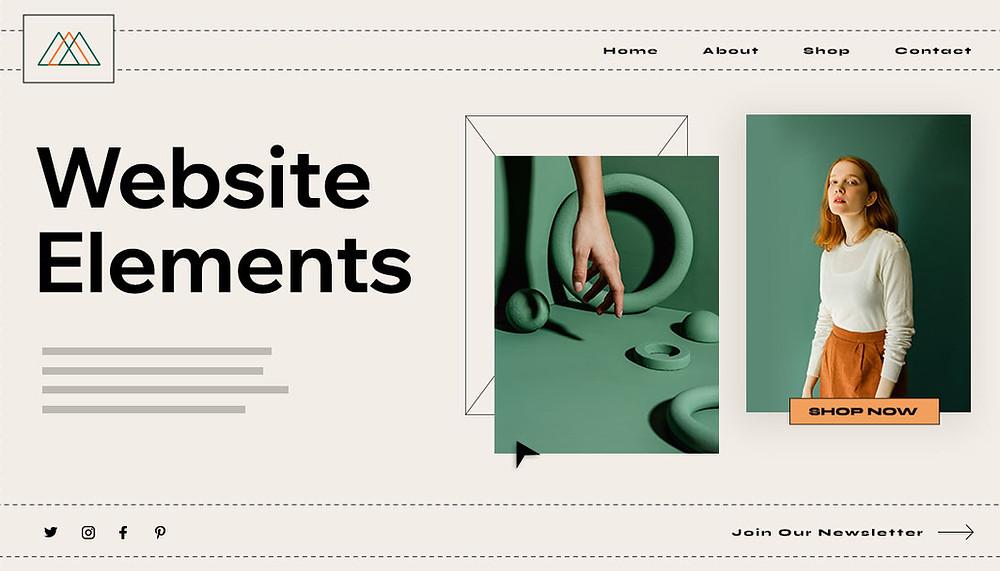 Parts of a Website