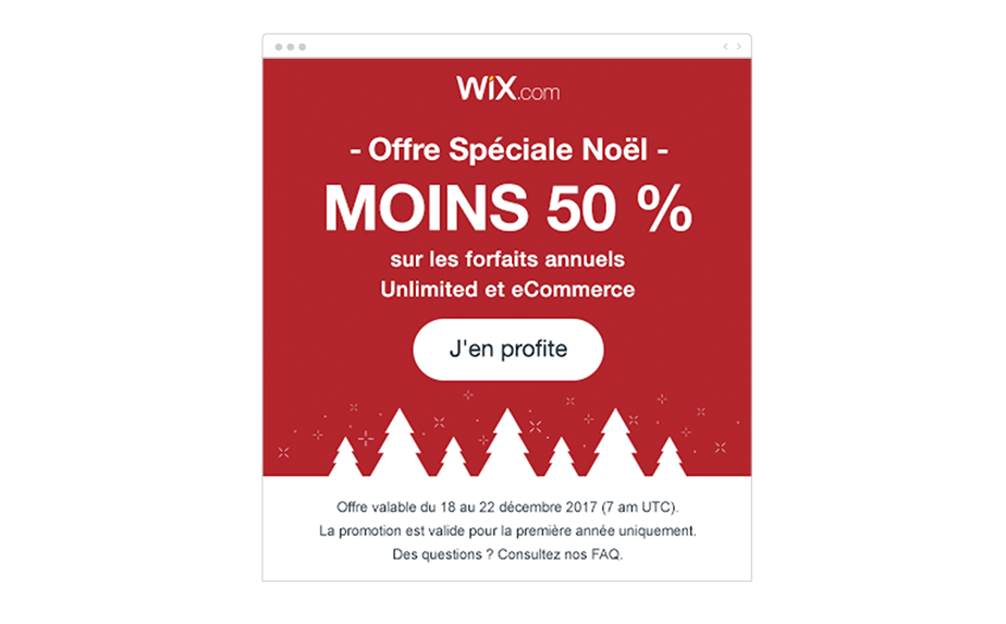 email marketing Wix