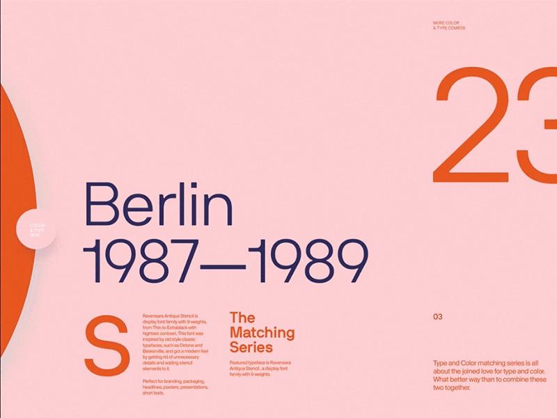 Typography design by Mario Sestak