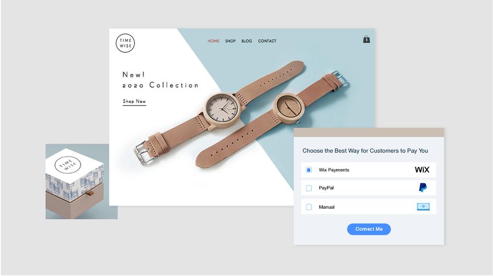 e-ticaret sitesi kurma: örnek online mağaza ana sayfası