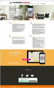 Site internet VTC cab