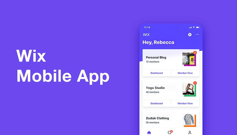 Wix Mobile App — управляйте бизнесом со смартфона