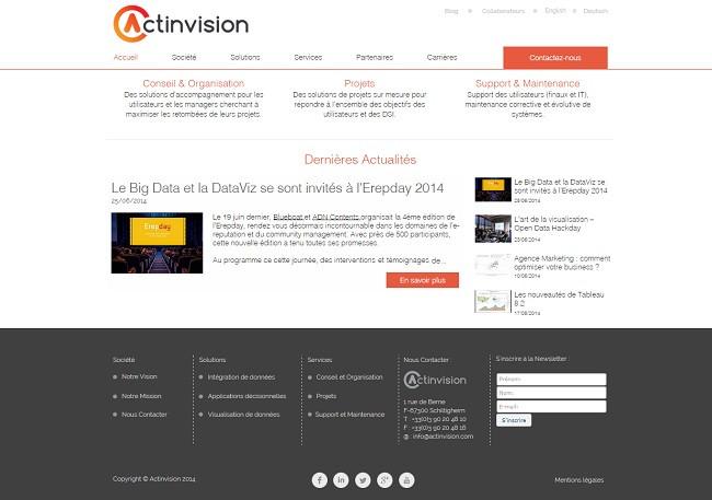 Actinvision Spécialiste Business Intelligence Data Visualization