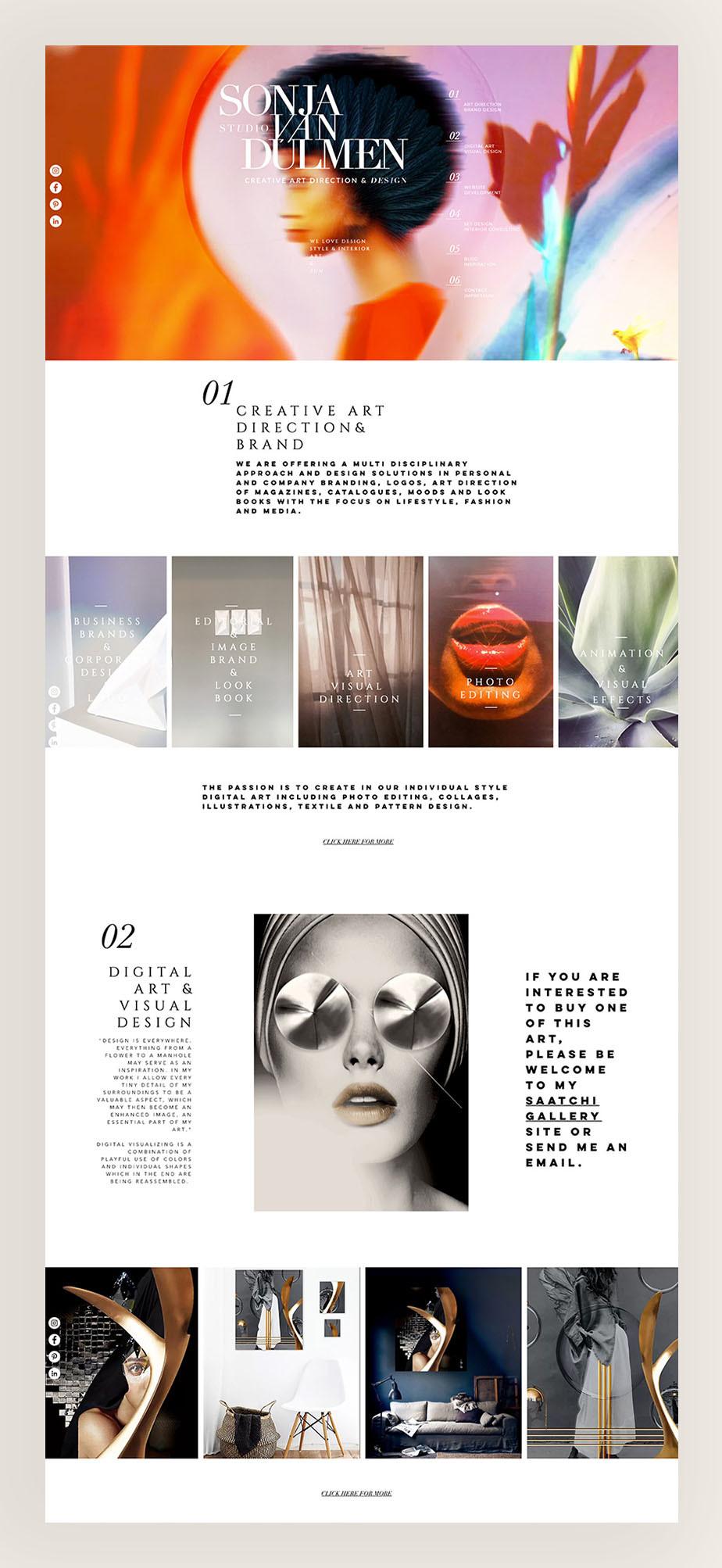 Sonja van Dulmen de beste wix websites