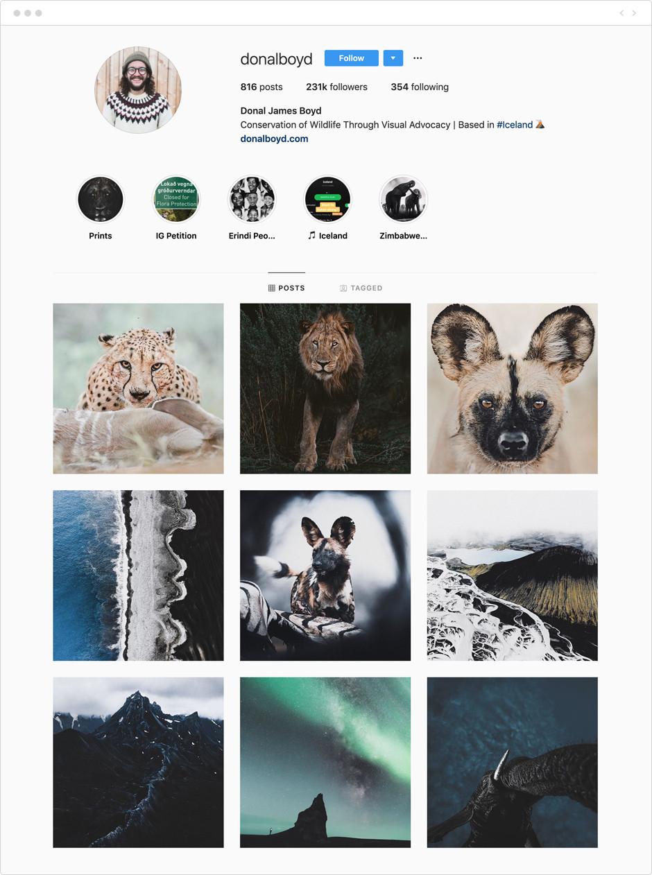 Donal James Boyd - Photographes à suivre sur Instagram
