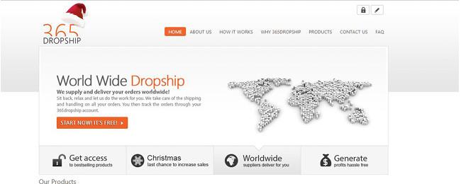 365 Dropship Wix App
