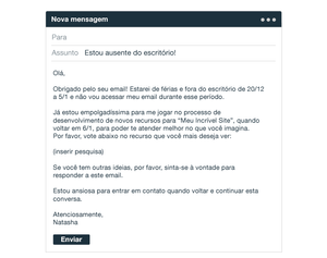 As 7 Melhores Mensagens de Ausência do Escritório para Seu Email