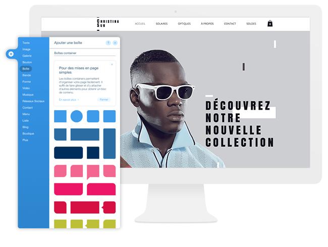 Editeur Wix Création Site Internet