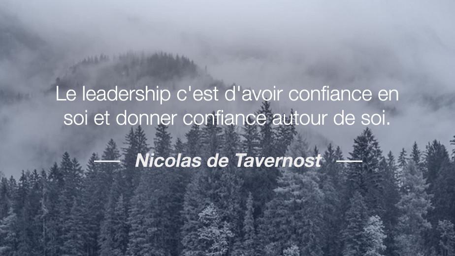 Citation Nicolas de Tavernost