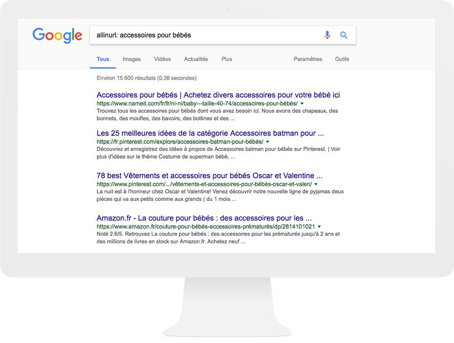 technique de recherche Google