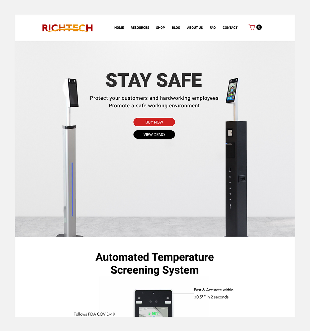 model B2B – Richtech