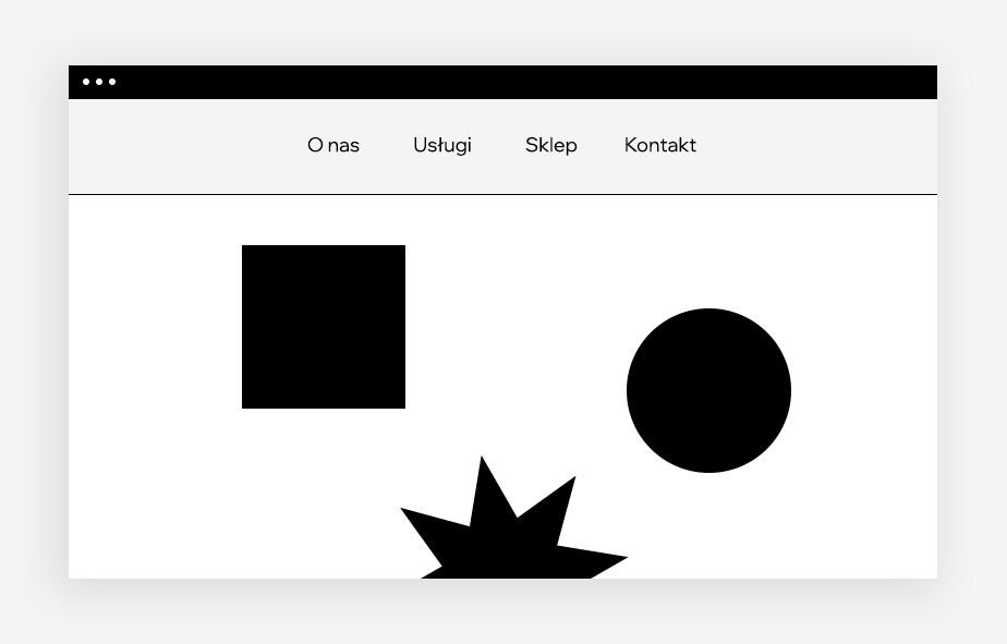projektowanie stron internetowych – sticky menu