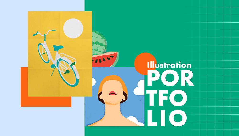 10 illustratie portfolio voorbeelden