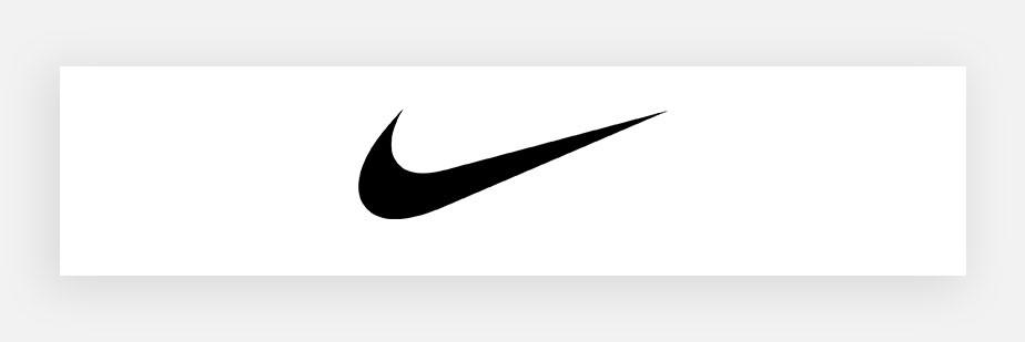 Примеры известных логотипов: Nike