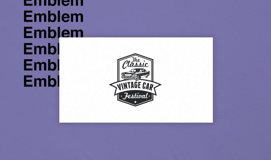 Emblem logo example
