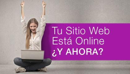 Tu Sitio Web Está Publicado, ¿Y Ahora Qué?