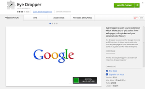Eye Dropper ChromeWebStore