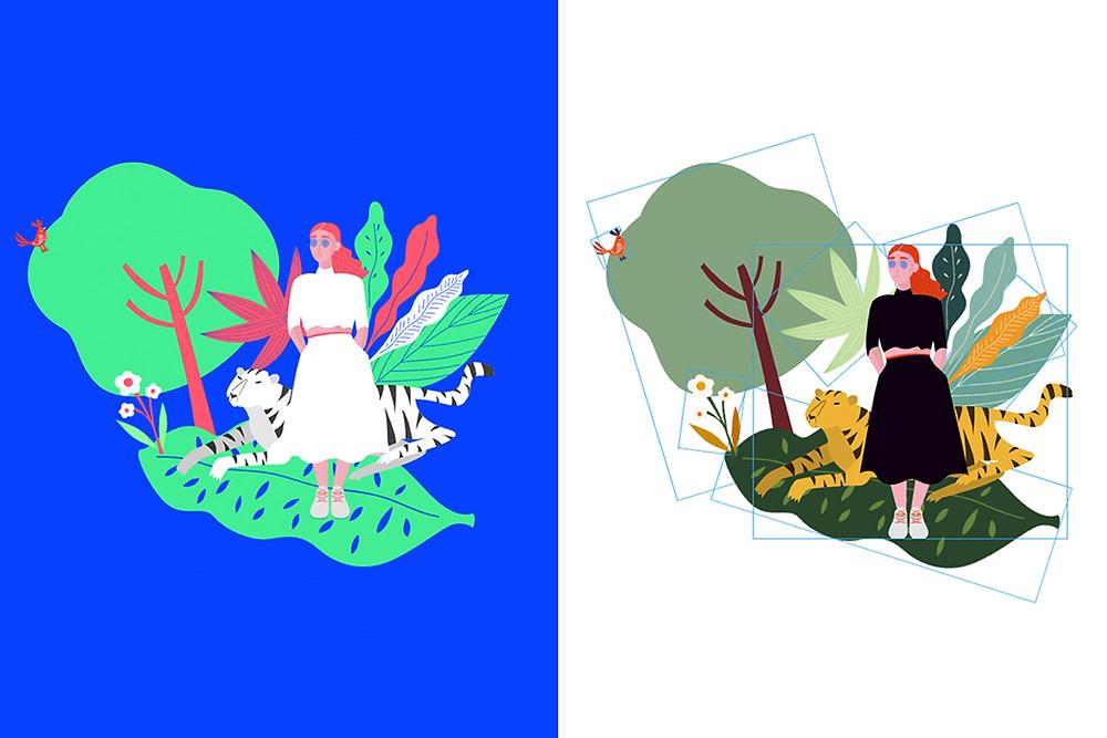 Free vector art illustrations for your website design
