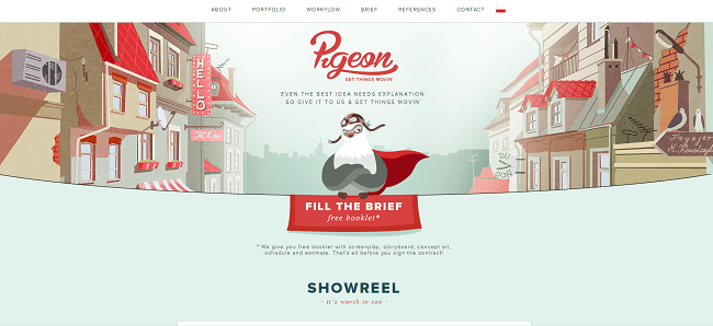 Site Studio Pigeon