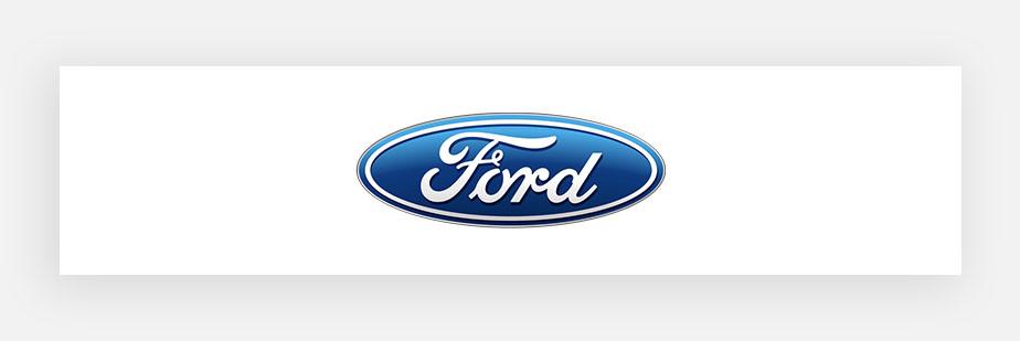 Примеры известных логотипов: Ford