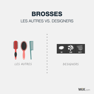 Blague de designers - brosses