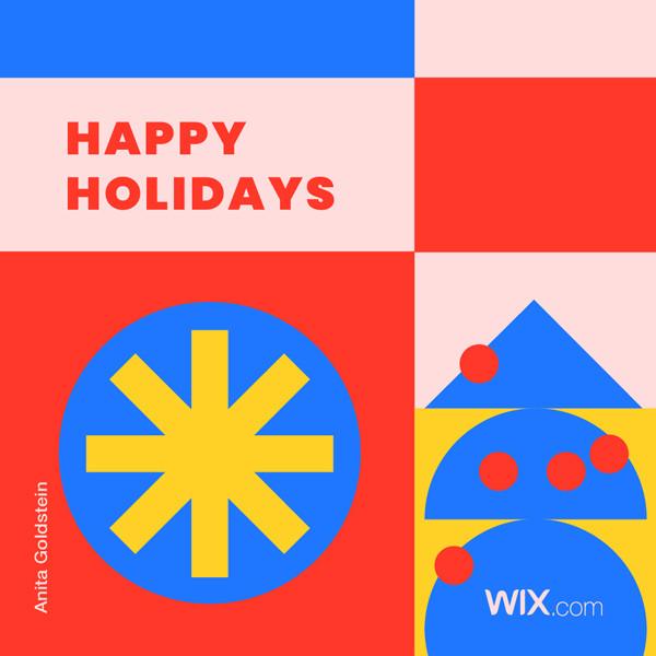 Online greeting card design by Anita Goldstein
