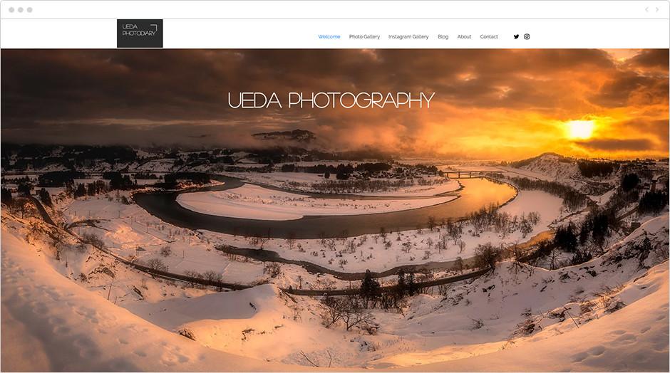 風景写真家サイト Ueda Photography