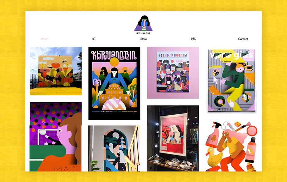 Levi Jacobs illustration portfolio
