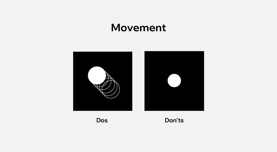 Ontwerpprincipes toegepast op webdesign: beweging