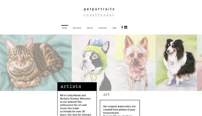 pet portraits coast 2 coast
