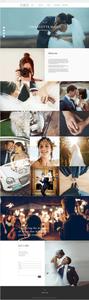 Wedding Photographer Website Template