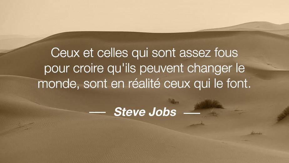 Citation Steve jobs