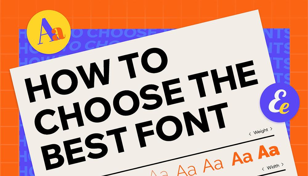 Hoe kies je het beste lettertype