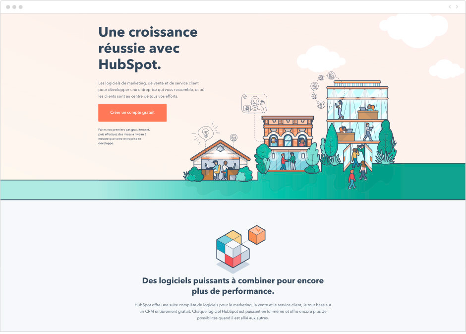 outils marketing Wix - Hibspot