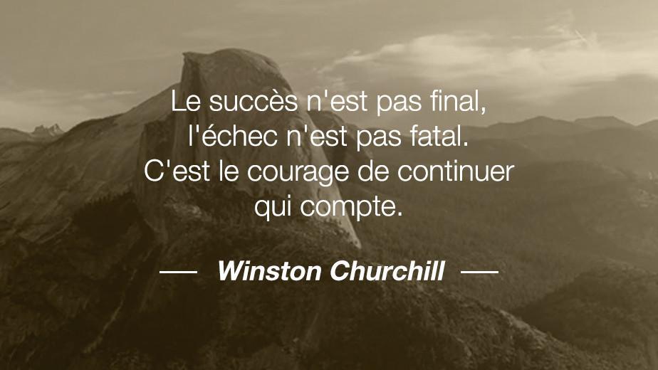 Citation Winston Churchill
