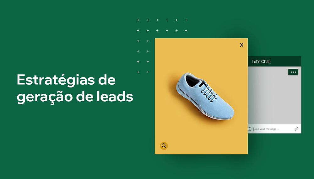 """Banner do artigo """"10 Estratégias Criativas de Geração de Leads"""""""