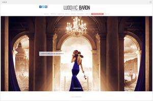 site photographie ludovic baron créé avec Wix