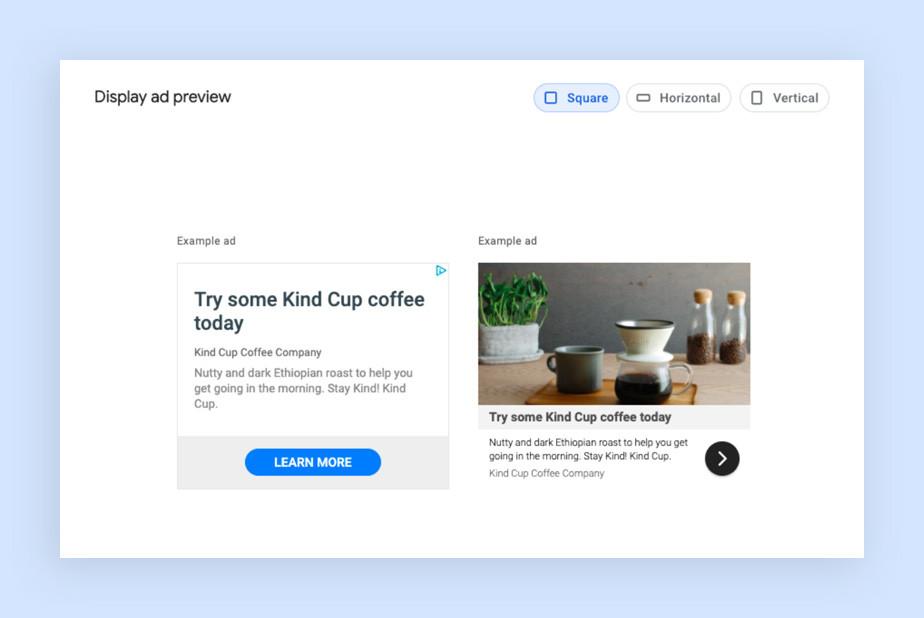 구글 애드센스에서 링크 광고를 생성하는 페이지의 이미지
