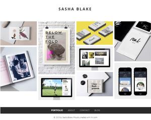 Шаблон для сайта графического дизайнера