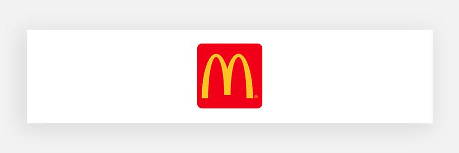 Примеры известных логотипов: McDonald's