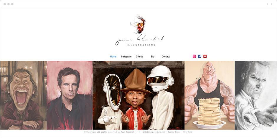 Página Web de Juan Perednik
