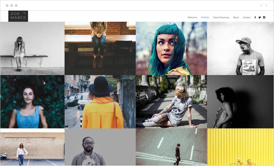 Najlepszy darmowy hosting zdjęć - strona Wix