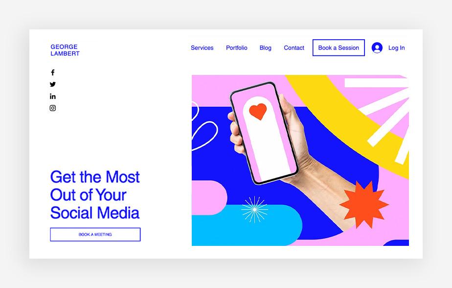 Wirtualny asystent – strona internetowa