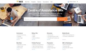 Centre d Assistance Wix.com