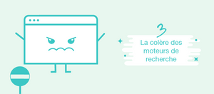 La colère des moteurs de recherche