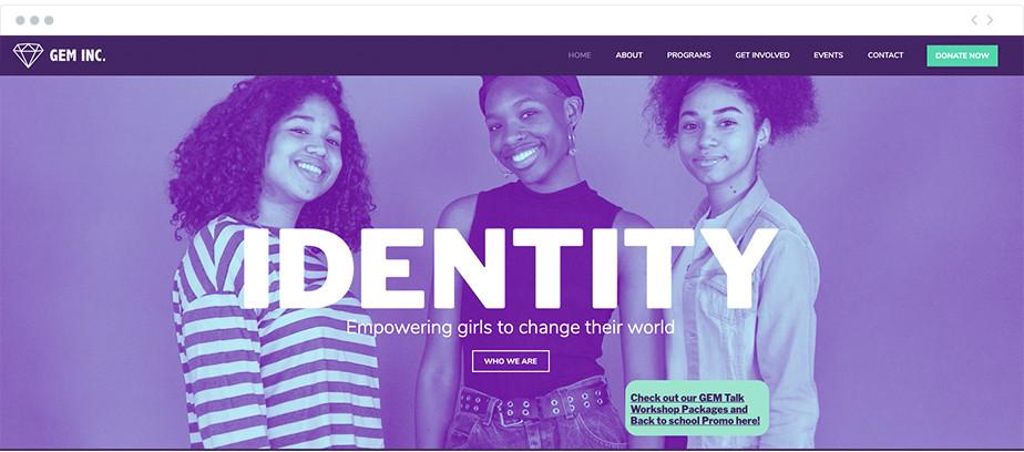 GEM, Inc. nonprofit website