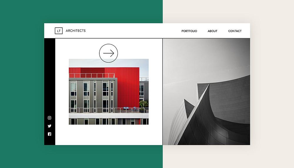 Как создать сайт портфолио для архитектора (с примерами)